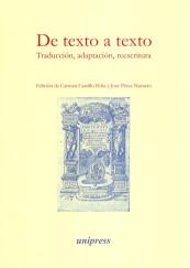 De texto a texto. Traduccion, adaptacion, reescritura