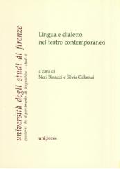 Lingua e dialetto nel teatro contemporaneo
