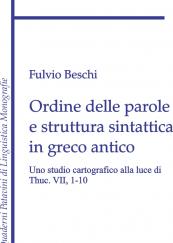 Ordine delle parole e struttura sintattica in greco antico