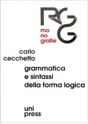 Grammatica e sintassi della forma logica