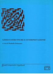 Lessico strutture e interpretazione