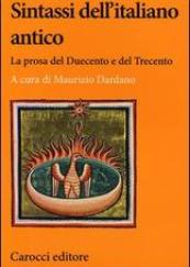 Sintassi dell'italiano antico