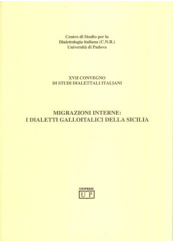 Migrazioni interne: I dialetti Galloitalici della Sicilia
