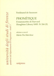 Phonétique. Il manoscritto di Harvard Houghton Library b MS Fr 266 (8)