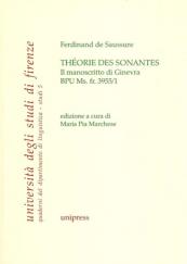 Théorie des sonantes. Il manoscritto di Ginevra BPU Ms. fr. 3955/1
