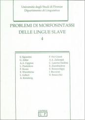 Problemi di morfosintassi delle lingue slave - 4